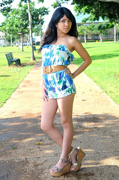 Hottie Of The Week Destinee Tupinio Honolulu Street Pulse